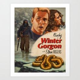 Winter Gorgon Art Print