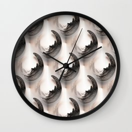 Serenity pattern Wall Clock
