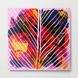Wild Leaf Metal Print