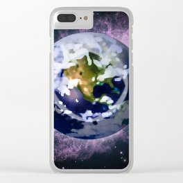 We're all made of Space Stuff Clear iPhone Case