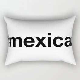 MEXICAN Hashtag Rectangular Pillow