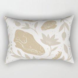 Forest Floor - Gold Rectangular Pillow