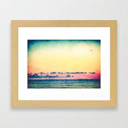 You Should Be Here Framed Art Print