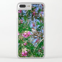 Hello Spring! Clear iPhone Case