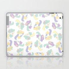 La fille mystérieuse Laptop & iPad Skin