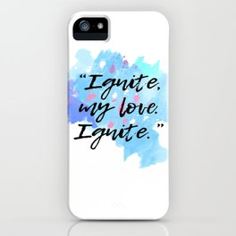 Shatter Me iPhone Case