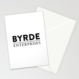Byrde Enterprises Stationery Cards