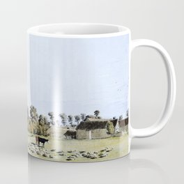 12,000pixel-500dpi - Thame From The Meadow - William Turner Coffee Mug