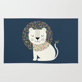 As A Lion Rug