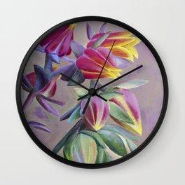 Succulent Bright Wall Clock