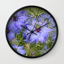 Love in the Mist Wall Clock