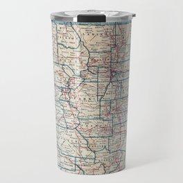 Vintage Map of Colorado (1921) Travel Mug