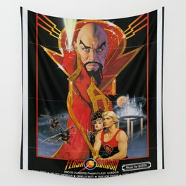 Vintage 80s Sci-Fi Movie Artwork For Prints, Posters, Tshirts, Bags, Men, Women, Kids Wall Tapestry
