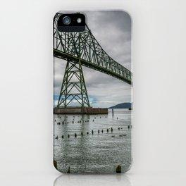 Astoria - Megler Bridge iPhone Case