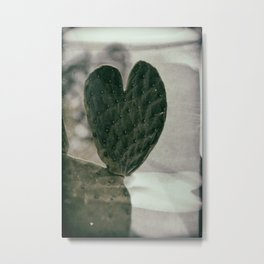 Padded Heart Metal Print