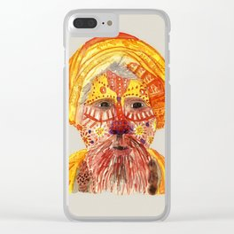 Nepalese Man by Tarachand Clear iPhone Case