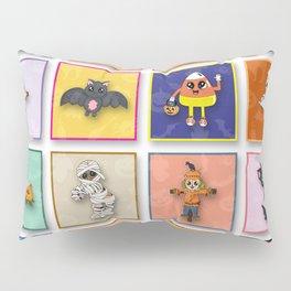Halloween Character Pattern Pillow Sham