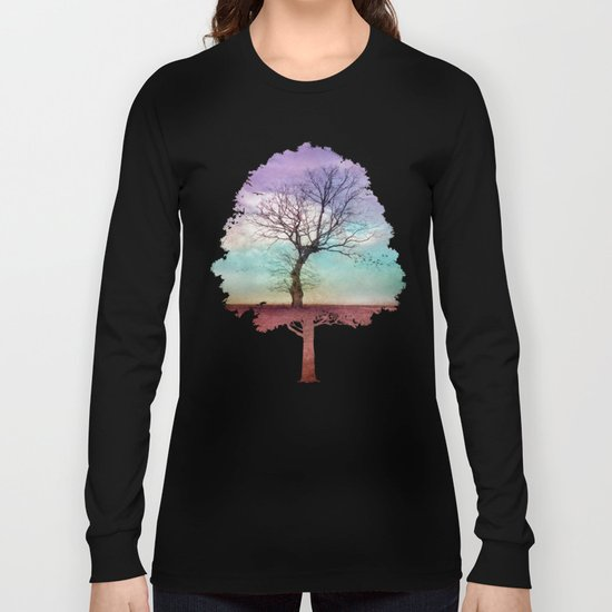 ATMOSPHERIC TREE | Early Morning Long Sleeve T-shirt