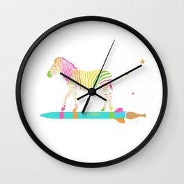 Zebra Rock It 6B Wall Clock