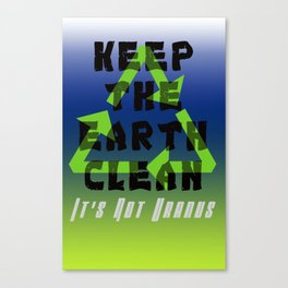 Save Our Planet Canvas Print