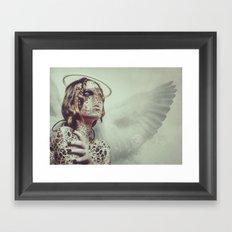 Dissimulation Framed Art Print