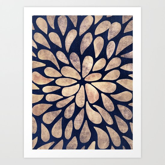 Petal Burst #4 Art Print