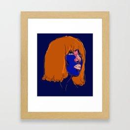 Carly Rae Jepson Framed Art Print