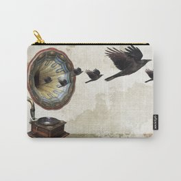 the sound of crows Carry-All Pouch