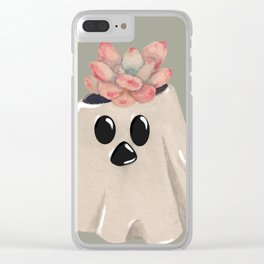 Ghost Planter Clear iPhone Case