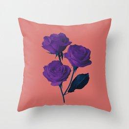 Les Fleurs du Mal Throw Pillow