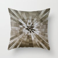 stargate Throw Pillows featuring Stargate by Elaine C Manley