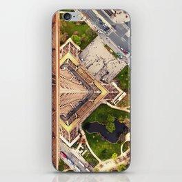Vers le Bas // Downwards iPhone Skin