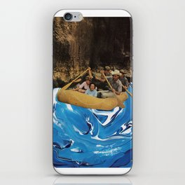 gently down the stream iPhone Skin