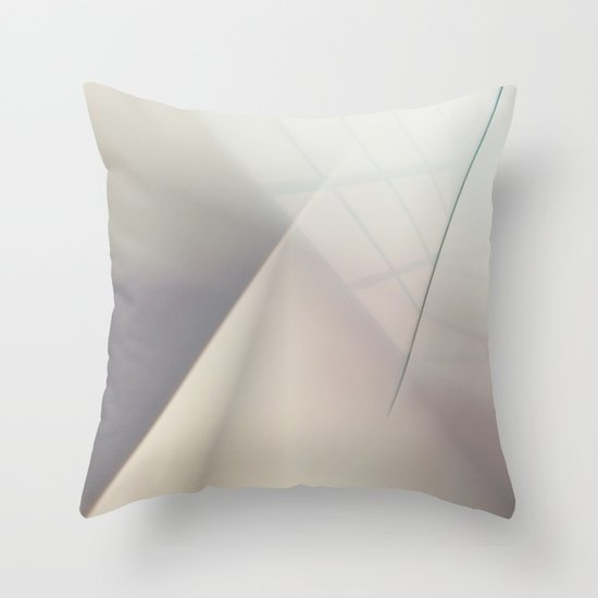 Space Geometry V Throw Pillow