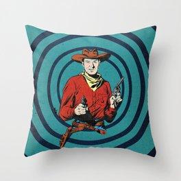 Wild/West Throw Pillow
