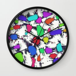 Candy scatter Wall Clock