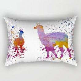 Llamas Rectangular Pillow