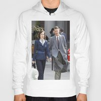 peggy carter Hoodies featuring Jack Thompson & Peggy Carter - Agent Carter. by agentcarter23