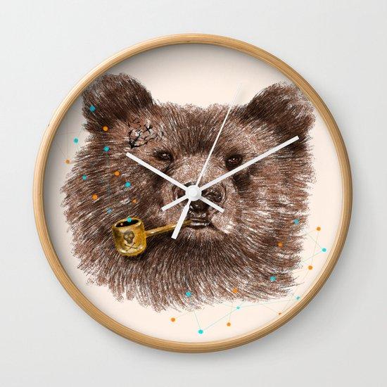Sailor Bear II Wall Clock