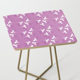 Humming Bird Pink Side Table