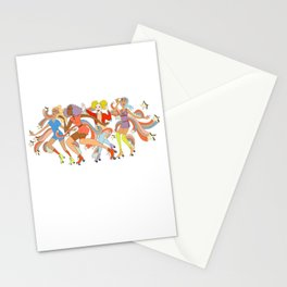 Roller Disco Dream Stationery Cards