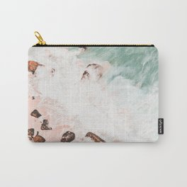 Ocean Waves and rocks Carry-All Pouch