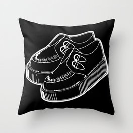 Creepers Throw Pillow