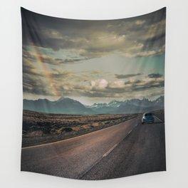 Rainbow Road Wall Tapestry