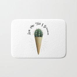 Ice Cream Cactus Lick Me Bath Mat