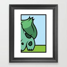 Starters: A Framed Art Print