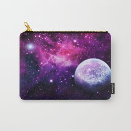Violet space nebula 080715 Carry-All Pouch