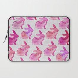 Watercolor Bunnies 1E by Kathy Morton Stanion Laptop Sleeve