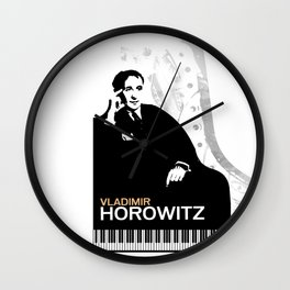 Vladimir Horowitz Wall Clock
