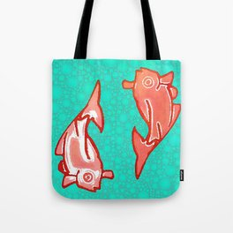 TWO KOI Tote Bag